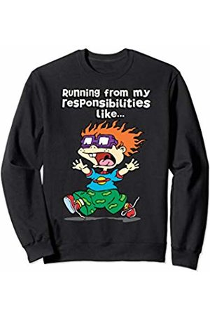Nickelodeon Hoodies & Sweatshirts - Running From My Responsibilities Like Chucking Running Sweatshirt