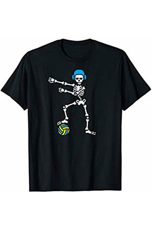 Cool The floss dance waterpolo player team coach Floss Flossing skeleton Water polo Halloween swim gift idea T-Shirt