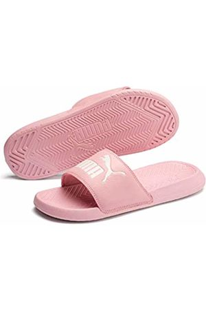 Puma Unisex Adults' Popcat Beach & Pool Shoes - (Bridal Rose-Pastel Parchment 48) - 7 (40.5 EU)
