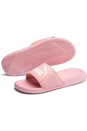 Puma Unisex Adults' Popcat Beach & Pool Shoes - (Bridal Rose-Pastel Parchment 48) - 7 (40.5 EU)