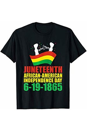 That's Life Brand JUNETEENTH AMERICAN AMERICAN INDEPENDENCE T SHIRT
