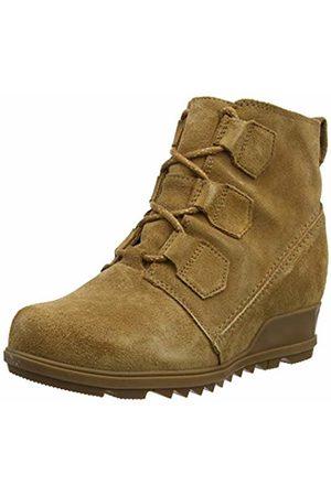 sorel Women's Evie LACE Ankle Boots, Camel 224