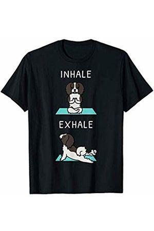 Funny Havanese Clothing Havanese Yoga Inhale Exhale Funny Dog Gift T-Shirt