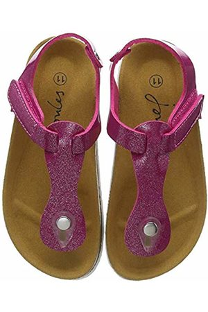 Joules Girls' Sundale Ankle Strap Sandals, (Truly Trupink)
