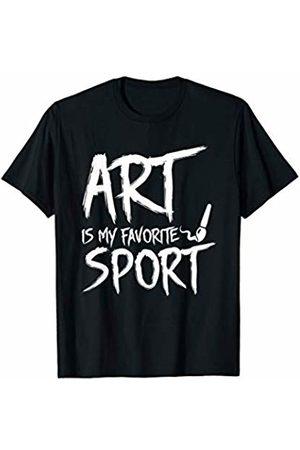 Shirt funny gift Artist Painter Is My Favorite Sport Design Graphic Shirt