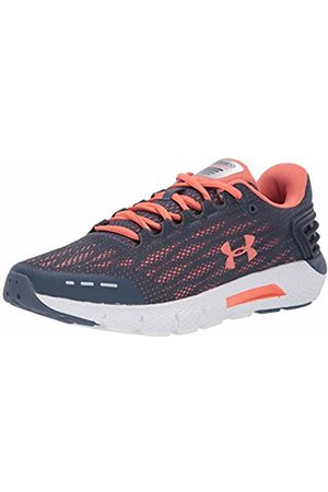 Under Armour Women's Charged Rogue Running Shoes, (Downpour Gray Coral Dust 401)