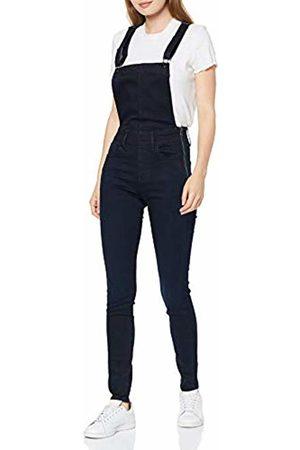 G-Star Women's Lynn High Waist Skinny Overall, (deep Ocean B481-A818)