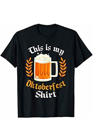 Oktoberfest Apparel by BUBL TEES This Is My Oktoberfest Beer T-Shirt