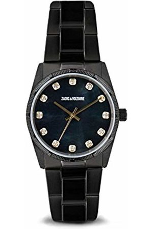 Zadig & Voltaire Unisex Analogue Classic Quartz Watch with Stainless Steel Strap ZVF222
