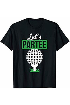 Shirtbooth: Golf Gift for Golfer and Golf Lover 'Let's Par-Tee' Funny Golfing T-Shirt