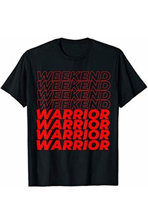 Quote Gym Shirts Unisex Co. Men T-shirts - Weekend Warrior Workout T-Shirt