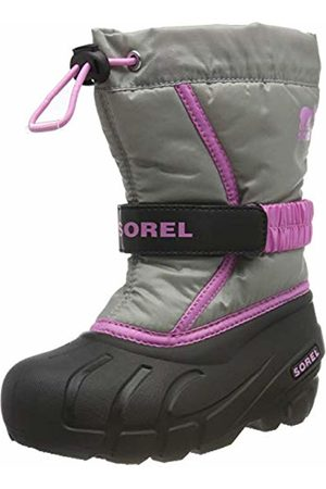 sorel Unisex Kid's Childrens Flurry Snow Boots, Chrome 061
