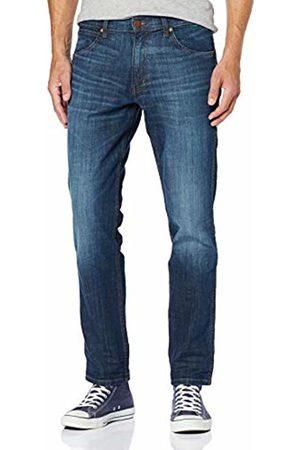 Wrangler Men's Greensboro Straight Jeans , Blue ( DUST 75E)