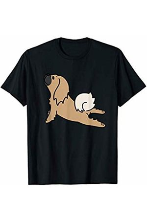 Funny Pekingese Clothing Pekingese Yoga Pose Funny Dog Gift T-Shirt