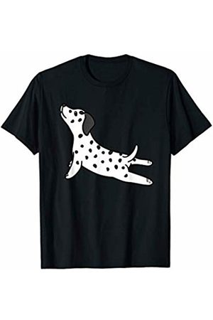 Funny Dalmatian Clothing Dalmatian Yoga Pose Funny Dog Gift T-Shirt