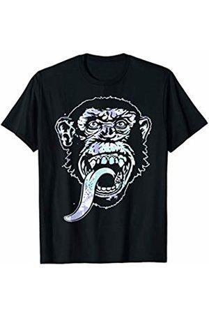 Gas Monkey Garage Tie Dye Floral Fill T-Shirt