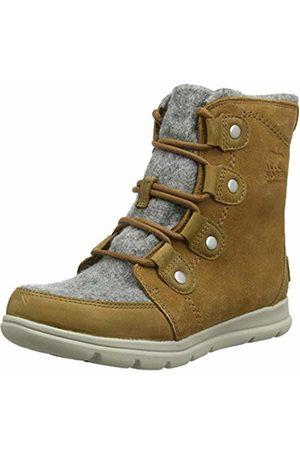 sorel Women's Explorer Joan Snow Boots, (Felt-Camel 224)