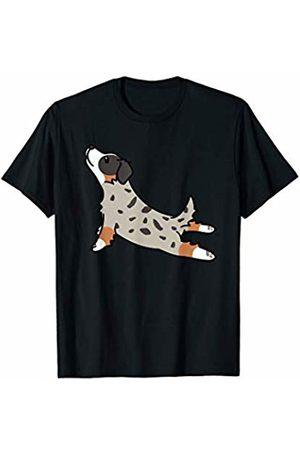 Funny Australian Shepherd Clothing Australian Shepherd Yoga Pose Funny Dog Gift T-Shirt