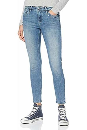 s.Oliver Women's 14.908.72.3466 Trouser, ( Denim Stretch 53z3)