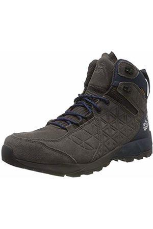 Jack Wolfskin Men's Cascade Hike Lt Texapore Mid M High Rise Shoes, Steel/Dark 6054