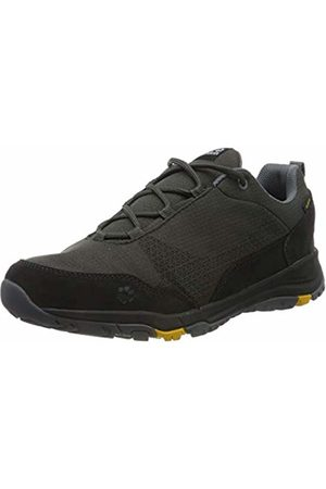 Jack Wolfskin Men Trainers - Men's Activate Xt Texapore Low M Wasserdicht Rise Hiking Shoes, (Dark Steel/Phantom 6056)