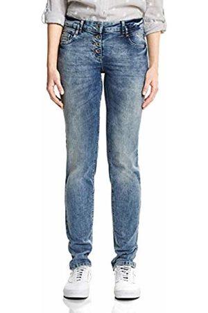 Cecil Women's 371847 Scarlett Straight Jeans