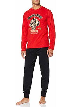 Freegun Men Pyjamas - Men's AH.FGTOK.PY2.MZ Pyjama Sets, Rouge/Noir