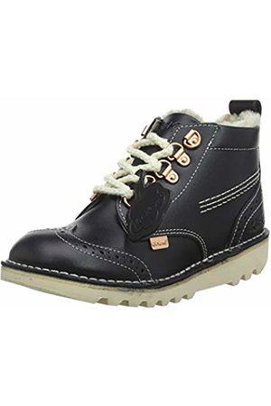Kickers Girls' Kick Fur Hiker Ankle Boots