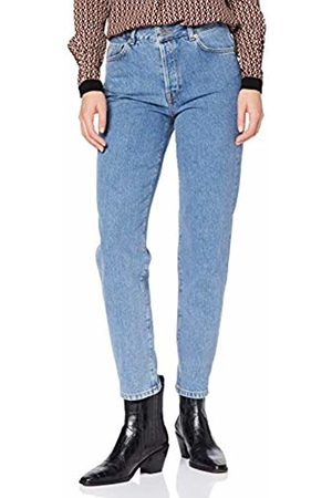 Selected Women's Slflou Hw Dawn Slim Tapered Jeans W Flared