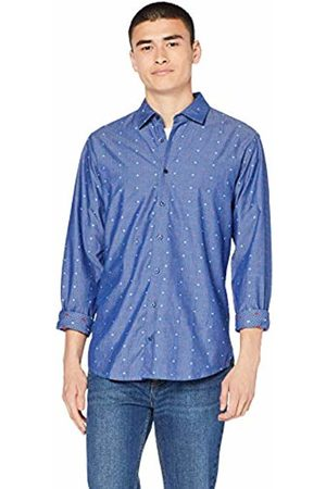 HUGO BOSS Men's Mypop_2 Casual Shirt, Dark 405