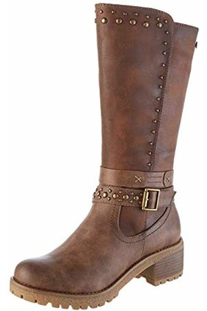 Refresh Women's 69186 Slouch Boots, Taupe