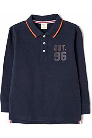 ZIPPY Boy's Polo Manga Larga Shirt, (Dress 19/4024 Tc 185)