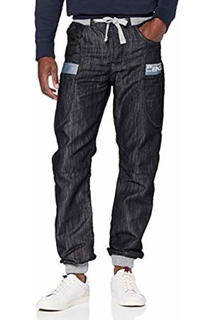 Enzo Men's Ez367 Tapered Fit Jeans