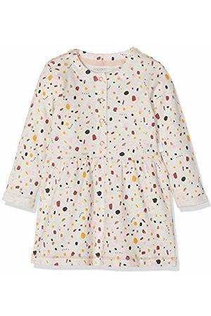 Noppies Baby Girls' G Dress Ls Conneaut AOP (Whisper Melange P)