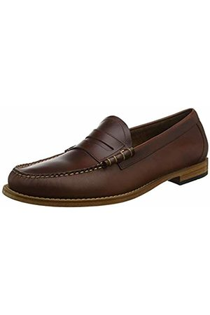G.H. Bass & Co. Men's Larson Loafers, (Dark Lthr 044)