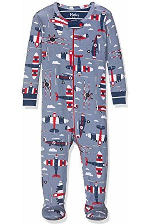 Hatley Baby Boys' Organic Cotton Footed Sleepsuit (Paper Planes 400)