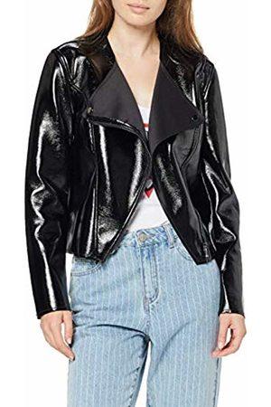 Guess Women's Esel Jacket Coat, Jet A996 JBLK
