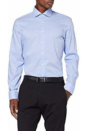 Seidensticker Men's Slim Fit Langarm mit Spred Kent-Kragen Bügelfrei Uni-100% Baumwolle Formal Shirt