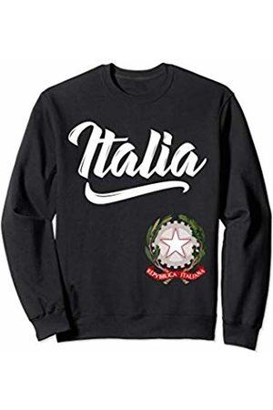 Tee Styley Italia Italian Coat of Arms Italy Italiano Family Men Women Sweatshirt