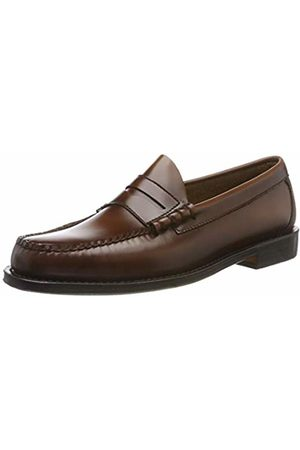 G.H. Bass & Co. Men's Larson Loafers, (Mid Leather 033)