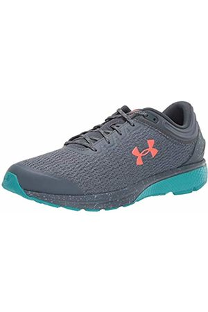 Under Armour Men's Charged Escape 3 Running Shoes, (Wire/Teal Rush/Beta 401)