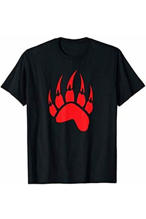 Jimmo Designs Women T-shirts - Bear Paw Native American Spirit Animal Totem T-Shirt