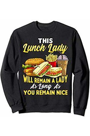 Tee Styley Lunch Lady School Cafeteria Worker Teacher Appreciation Sweatshirt