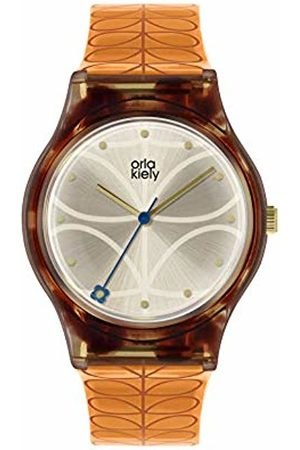 Orla Kiely Womens Analogue Classic Quartz Watch with Plastic Strap OK2308