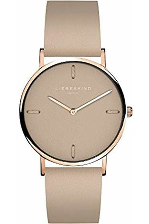 liebeskind Womens Analogue Quartz Watch with Leather Strap LT-0202-LQ
