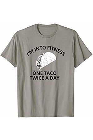 Taco Fun Gifts Fitness Taco Funny Humorous Gym Mexican Food T-Shirt
