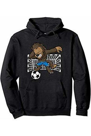 Spooktacular Halloween Co Gift Shop Soccer Dabbing Werewolf Halloween Funny Sports Kids Boys Men Pullover Hoodie