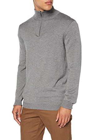 FIND PROSP001 Mens Jumpers, (Mid Marl)
