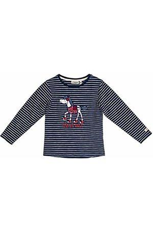 Salt & Pepper Salt and Pepper Girls' Cool & Crazy Pferd mit Pailetten Longsleeve T-Shirt, (Indigo 429)