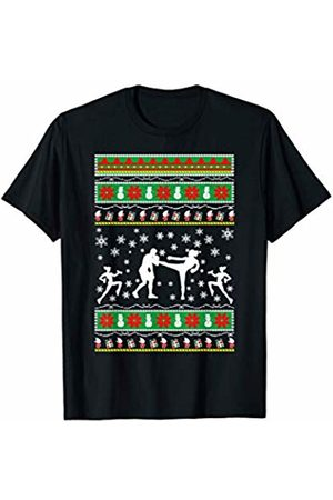 Fitness Competition Ugly Xmas Gifts APA Fitness Competition ugly christmas gift T-Shirt